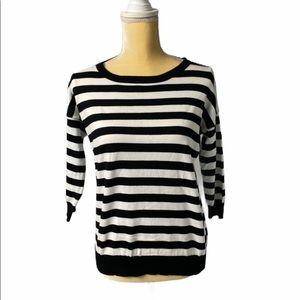 ☀️Black and white striped shirt - Premise - XS